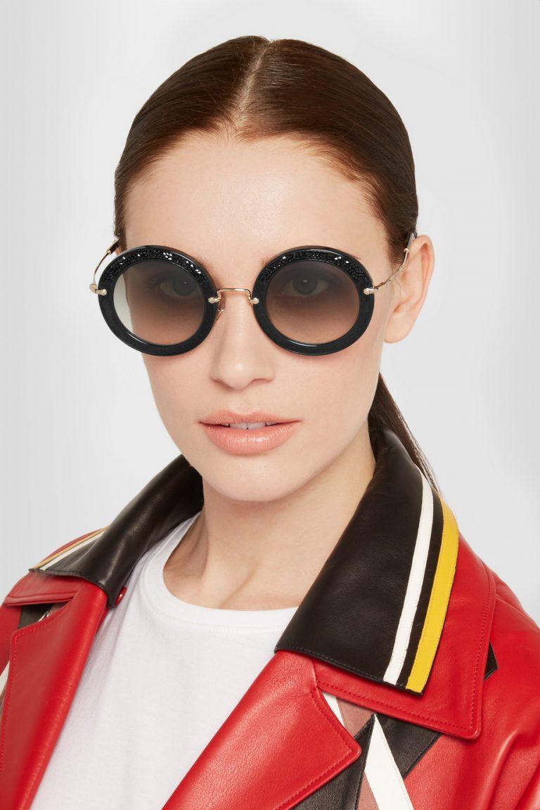 kính mắt thời trang miu miu