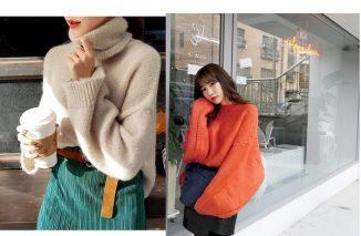 mặc đẹp với áo len