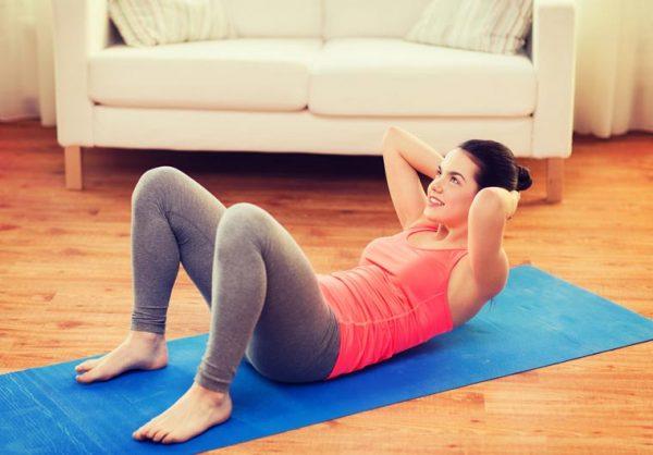 gập bụng tòa diện giảm mỡ bụng