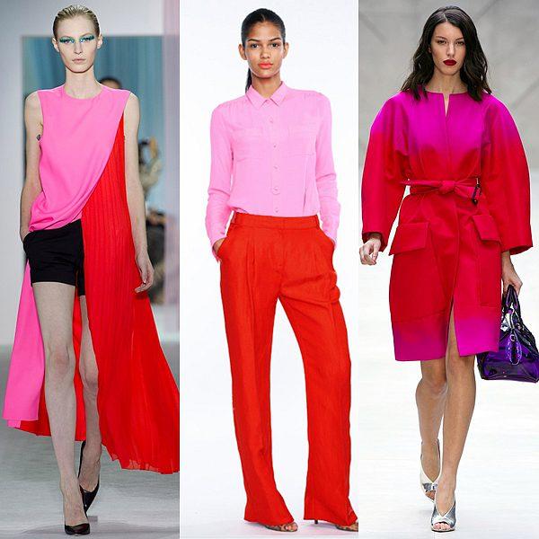 Hồng Fuchsia xu hướng thời trang thu đông 2018