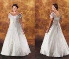 Dáng áo corsets- kiểu váy cưới cho cô dâu mập
