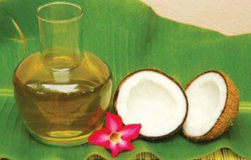 6. Cách làm trắng da toàn thân với Cà phê và dầu dừa