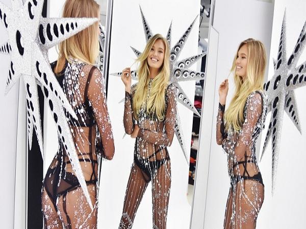 Thiết kế nội y Swarovski của Victoria's Secret 2018