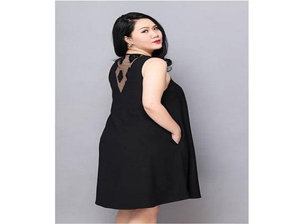 Thời trang cho người béo bụng