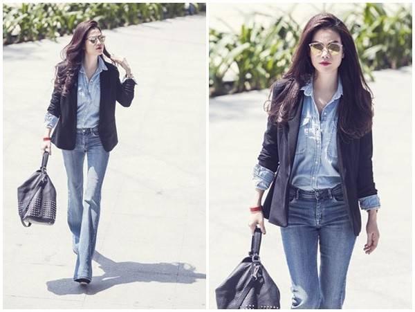 Quần jean mặc với áo gì giúp bạn cực chất và sành điệu