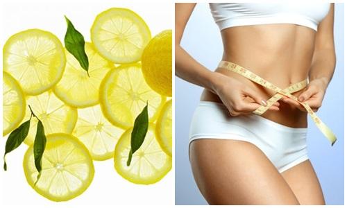 Cách giảm mỡ bụng với quả chanh
