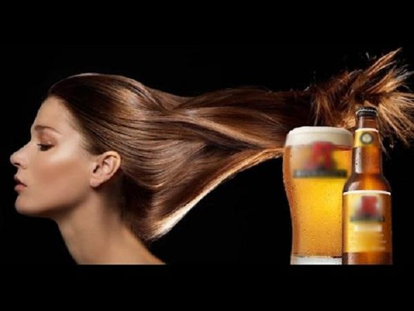 Cách làm tóc nhanh dài  với bia