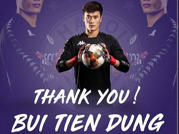 Rời Hà Nội FC, Thủ môn Bùi Tiến Dũng đầu quân 3 mùa cho CLB TP HCM