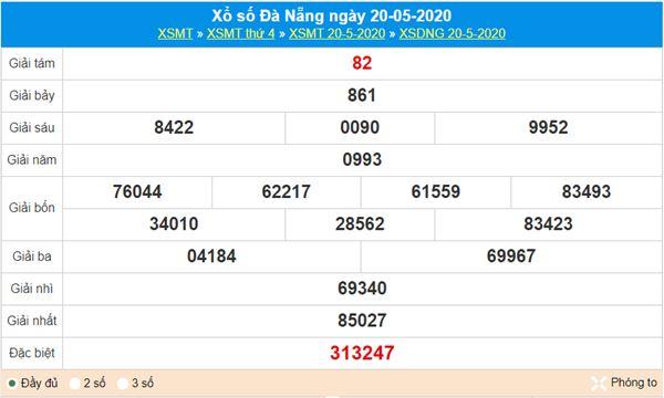 Soi cầu KQXS Đà Nẵng 23/5/2020 cùng các chuyên gia