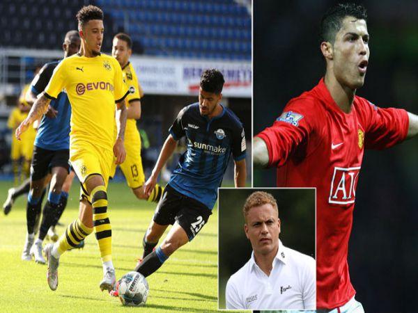 Sancho hay như Ronaldo MU và Real tranh giành