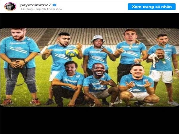 Dimitri Payet sỉ nhục Neymar trên mạng xã hội