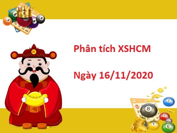 Phân tích XSHCM 16/11/2020 hôm nay - Dự đoán xổ số Hồ Chí Minh ngày 16 tháng 11 - Soi cầu kết quả xổ số thành phố Hồ Chí Minh thứ 2 ngày 16/11 các cặp số