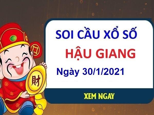 Soi cầu XSHG ngày 30/1/2021